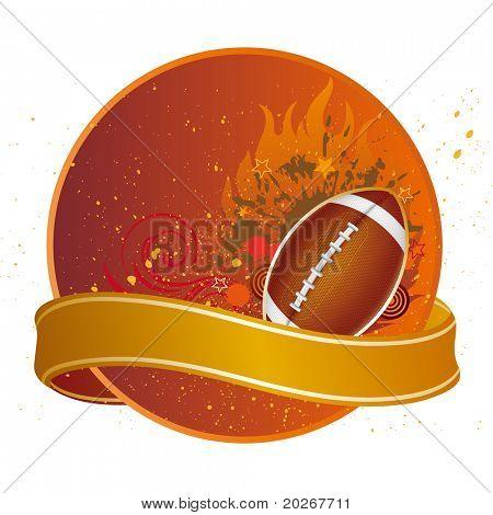 american football sport design elements