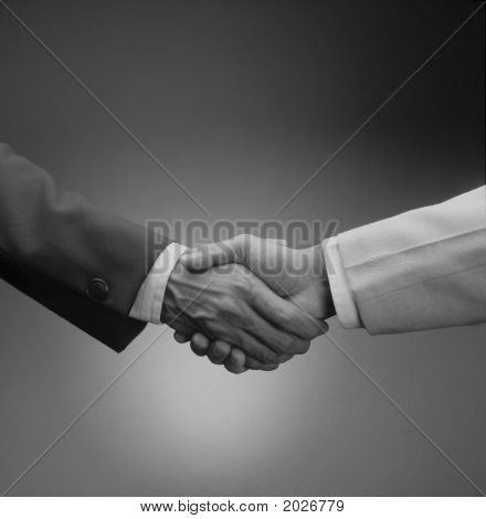 Firm  Hand Shake.