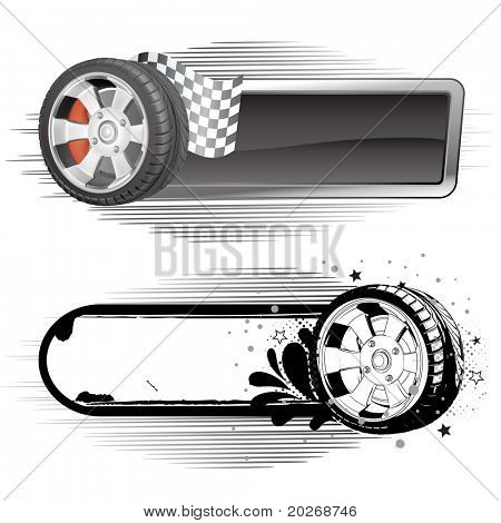 design  element of automobile race