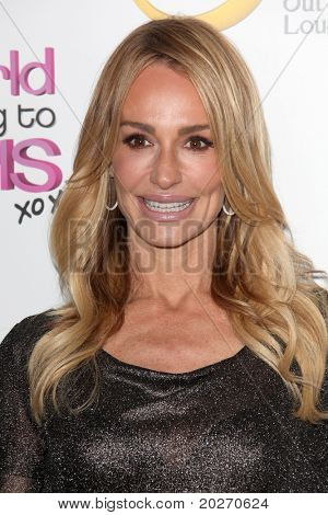 LOS ANGELES - MAY 17:  Taylor Armstrong arriving at the premiere of Oxygen's New Docu-Series 'The World According To Paris'  at The Hollywood Roosevelt on May 17, 2011 in Los Angeles, CA