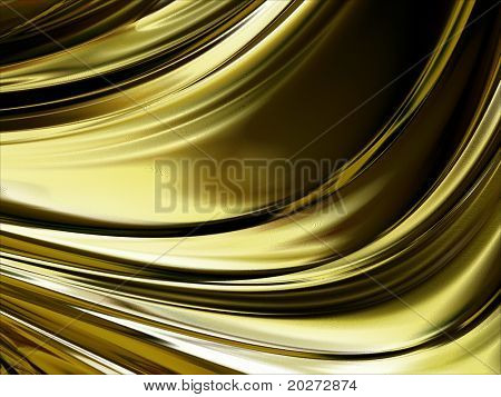 Metal background, abstract, gold