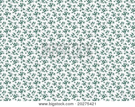 Floral background, recurrent and symmetric