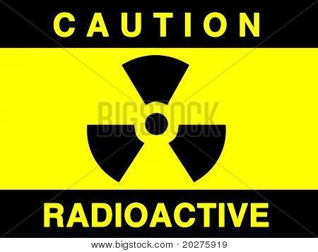 Strahlung Zeichen