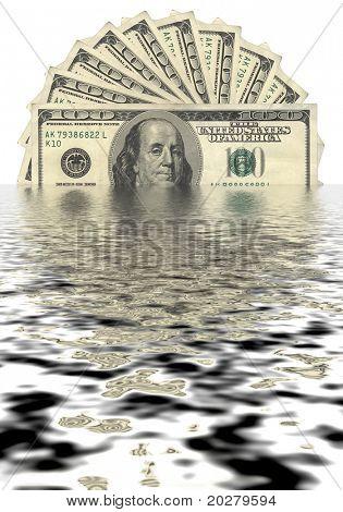 Dollar sinking- hard economy times