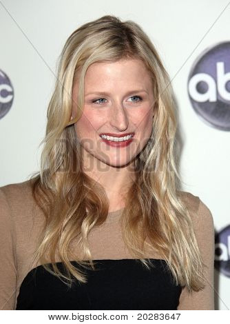 LOS ANGELES - JAN 10:  Mamie Gummer arrives to Winter Press Tour 2011-ABC  on January 10,2011 in Hollywood, CA
