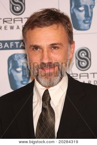 LOS ANGELES - JAN 16:  Christoph Waltz arrives to the 'BAFTA LA Annual Awards Season Tea Party  on January 16,2010 in Beverly Hills, CA