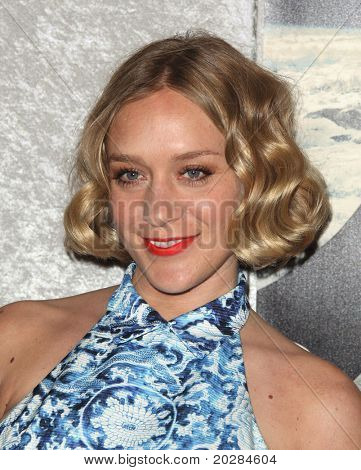 LOS ANGELES - JAN 12:  Chloe Sevigny arrives at the Season 5 premiere of