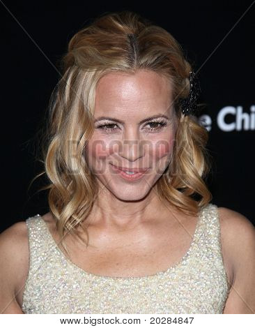 LOS ANGELES - JAN 13: Maria Bello arrives to Bvlgari Hosts Funraiser for Save The Children  on January 13, 2011 in Los Angeles, CA