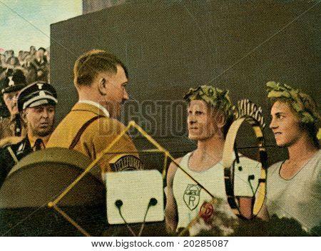 Adolf Hitler Stuttgart Turnfest 1933