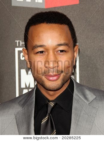 """LOS ANGELES - JAN 14:  John Legend arrives to 16th Annual """"Critics"""" Choice Movie Awards  on January 14, 2011 in Los Angeles, CA."""