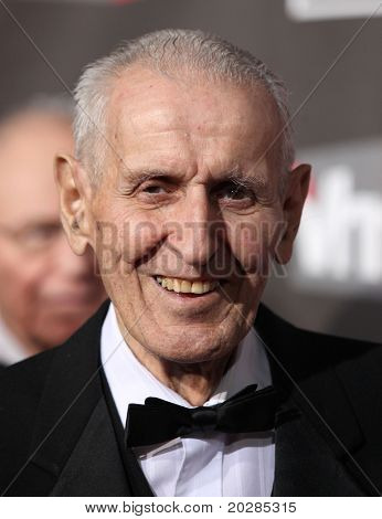 "LOS ANGELES - JAN 14:  Dr. Jack Kevorkian arrives at the 16th Annual ""Critics"" Choice Movie Awards  on January 14, 2011 in Los Angeles, CA"