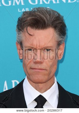 LAS VEGAS - APR 18:  Randy Travis arrives at the 45th Academy of Country Music Awards  on April 18,2010 in Las Vegas, NV