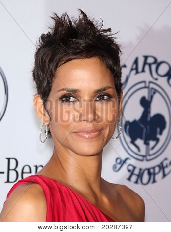 LOS ANGELES - OCT 23:  HALLE BERRY arrive to the Carousel of Hope 2010  on October 23,2010 in Beverly Hills, CA