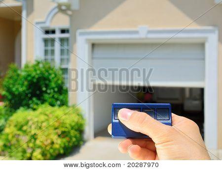 Abrelatas de la puerta de garaje