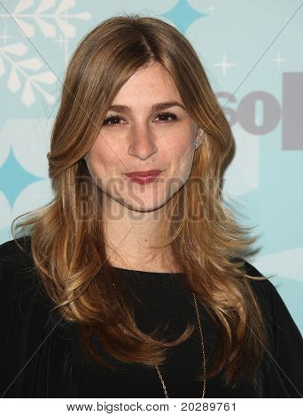 PASADENA, CA - JAN 11:  Aya Cash arrives at the FOX All-Star Party on January 11, 2011 in Pasadena, CA
