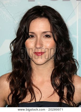 PASADENA, CA - JAN 11:  Shannon Woodward arrives at the FOX All-Star Party on January 11, 2011 in Pasadena, CA