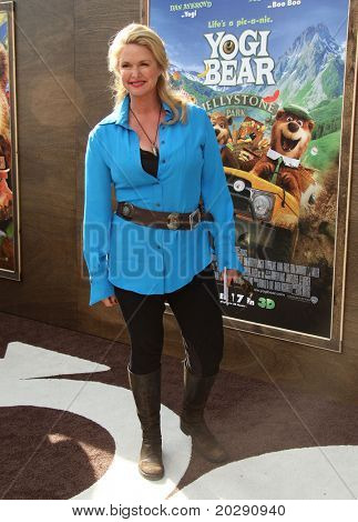 LOS ANGELES - DEC 11:  Donna Dixon arrives to the 'Yogi Bear' Los Angeles Premiere  on December 11, 2010 in Westwood, CA