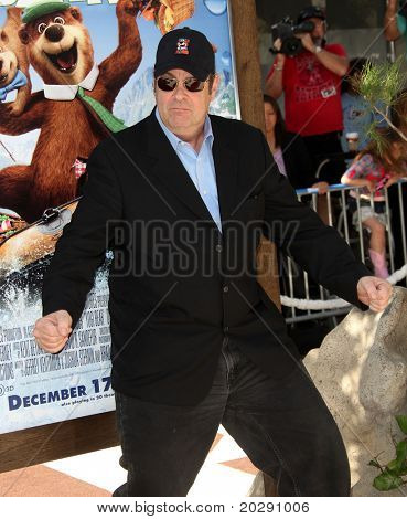 LOS ANGELES - DEC 11:  Dan Aykroyd arrives to the 'Yogi Bear' Los Angeles Premiere  on December 11, 2010 in Westwood, CA