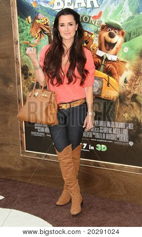 LOS ANGELES - DEC 11:  Kyle Richards arrives to the 'Yogi Bear' Los Angeles Premiere  on December 11, 2010 in Westwood, CA