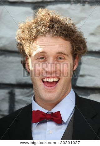 LOS ANGELES - DEC 11:  TJ Miller arrives to the 'Yogi Bear' Los Angeles Premiere  on December 11, 2010 in Westwood, CA