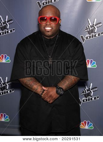 LOS ANGELES - MAR 15:  Cee Lo Green arrives to the Press Junket for