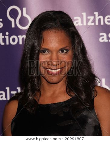 "LOS ANGELES - MAR 16:  Audra McDonald arrive at the 19th Annual ""A Night at Sardi's"" Fundraiser & Awards on March 16, 2011 in Beverly Hills, CA"