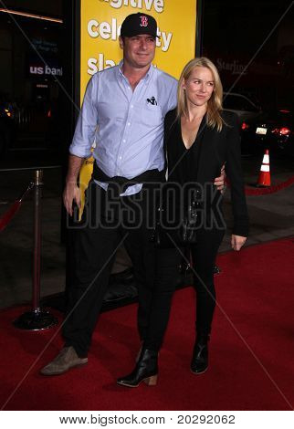 """LOS ANGELES - MAR 14:  Liev Schreiber & Namoi Watts arrives at the """"Paul'"""" premiere on March 14, 2011 in Hollywood, CA"""