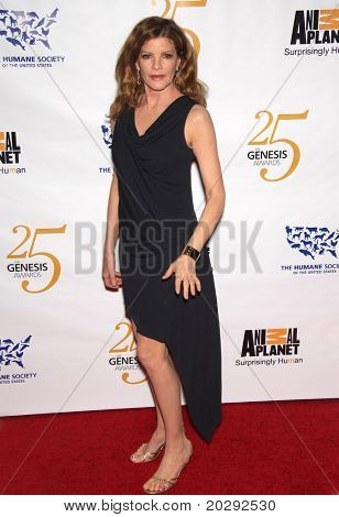 LOS ANGELES - MAR 19: Rene Russo arrives to the 25th Annual Genesis Awards  on March 19, 2011 in Century City, CA