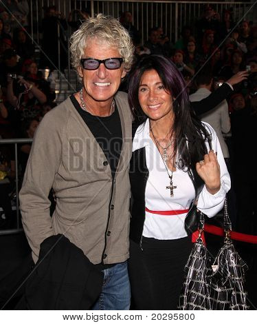 """LOS ANGELES - MAY 07:  Kevin Cronin & Wife arrives to the """"Pirates of the Caribbean: On Stranger Tides"""" World Premiere  on May 7, 2011 in Anaheim, CA"""