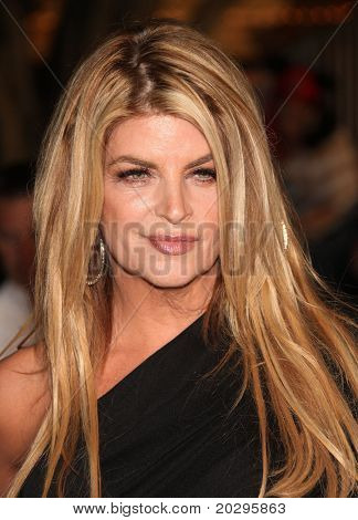 "LOS ANGELES - MAY 07:  Kirstie Alley arrives to the ""Pirates of the Caribbean: On Stranger Tides"" World Premiere  on May 7, 2011 in Anaheim, CA"