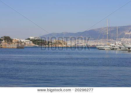 Piraeus the port of Athens Greece