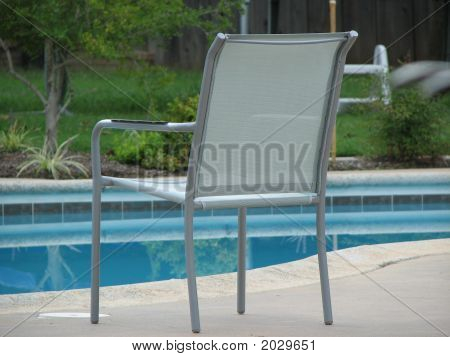 Lone Pool Chair