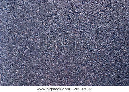 Road covering asphalt close up