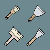 House Painting Tools poster