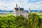 Постер, плакат: Schloss Neuschwanstein Castle Germany