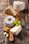assorted cheese poster