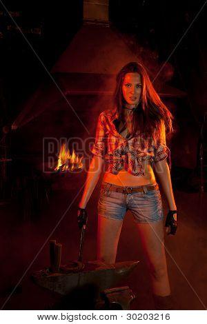 Blacksmith Girl