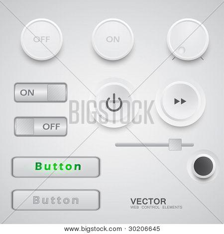 Web User Interface Design Elements