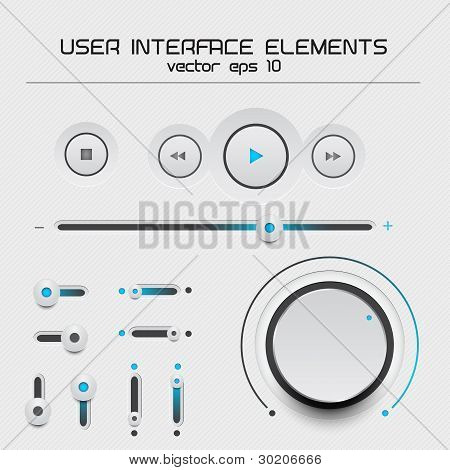 Web User Interface Design Elements