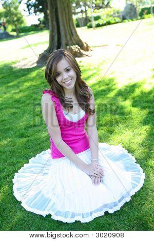 Pretty Girl In Shade