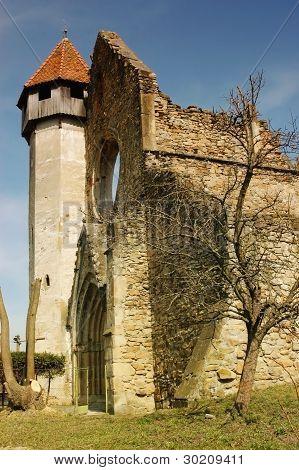 Old cistercian church in Carta, Transylvania, Romania