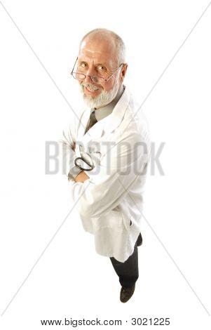 Smiling Older Doctor