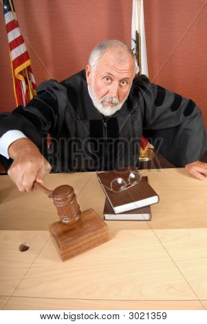 Unhappy Judge
