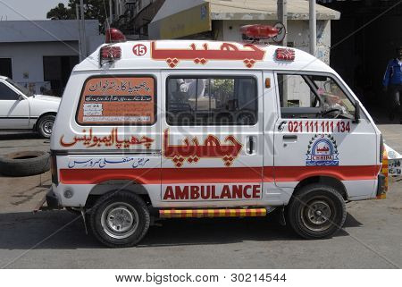 Pakistan_medical Ambulance