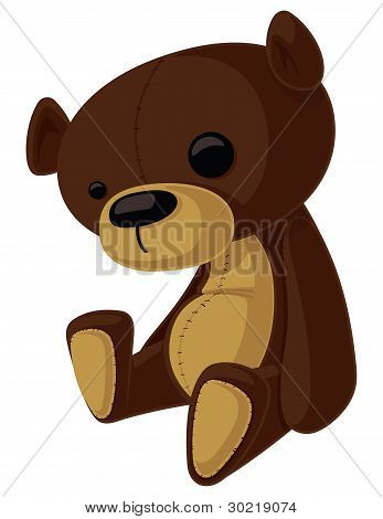 Vector Teddy Bear