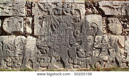 Chichen Itza hieroglyphics mayan pok ta pok ball court Mexico