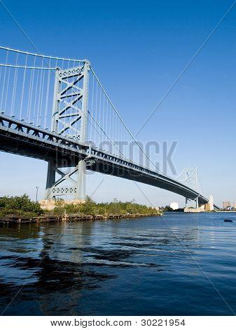 Architecture Tourism Benjamin Franklin Bridge