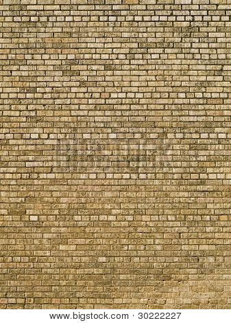 Backgrounds - Dirty Brick Building