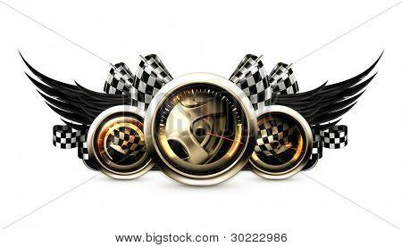 Emblema de la competición, vector