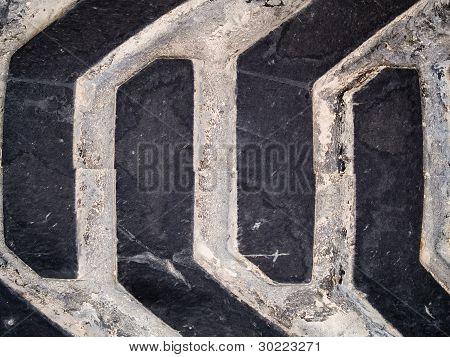 Makro Textur - Industrie - Reifen